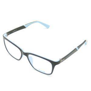 On Deck Oval Style Matte Black/Blue Frame